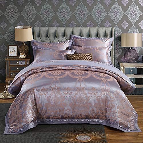 Yaonuli satijnen jacquard beddengoedset voor 4 personen 1,8 m2.0 bed 1,5 droomreis 1,5 bed sprei 200 x 230 cm