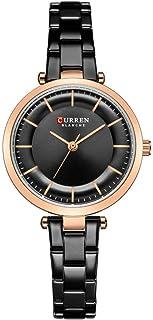 Delicate Women's Wrist Watches Ladies Series Girls Watch Female for Women Women's Watch Alloy Belt Watch,Colour Name:White...