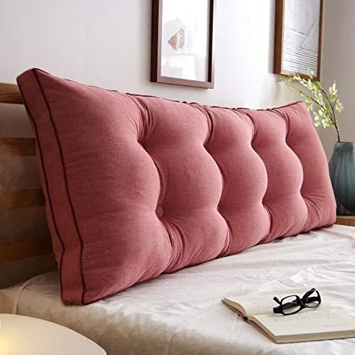 J-Kissen Triangle Bett liest Rückenkissen Kissen, zurück Keilkissen Kissen Tagesbett Polsterkopfteil Abnehmbarer waschbarer Bezug (Color : O, Size : 20x50x200cm(8x20x79inch))
