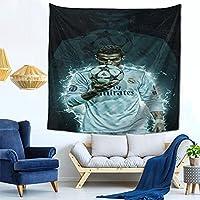 Cr7 Cristiano Ronaldo (2) インテリア 壁掛け おしゃれ 室内装飾 多機能 寝室 カーテン 新築祝い 結婚祝い プレゼント ウォール アート写真集 アートポスター 装飾布 多機能 インテリア おしゃれ壁掛け 窓の装飾 150cm*150cm(59in*59in)
