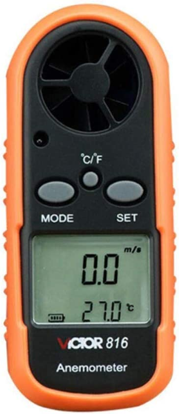 Mail order cheap Max 69% OFF M-CH Digital Anemometer Wind Speed Handheld LCD Gauge A