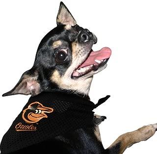 Hunter MLB Baltimore Orioles Mesh Pet Bandana - Black (Small/Medium)