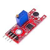 Prament 5個KY-038 Arduino用マイクロホンサウンドセンサーモジュール COD