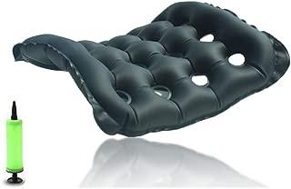Heartbeat Air Inflatable Seat Cushion, Portable Breathable Comfort Cushion Car Seat Office Chair Wheelchair Pad (18
