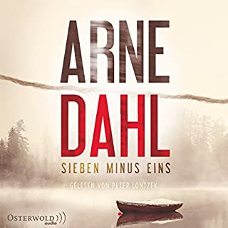 Sieben minus eins audiobook cover art