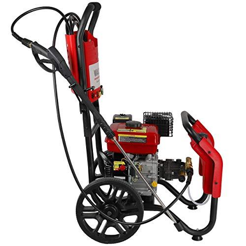 WALTER Benzin Hochdruckreiniger 7 PS Viertaktmotor - 3