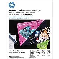 HP パンフレットペーパー   光沢 プロフェッショナル 三つ折りインクジェット  8.5 x 11   150枚
