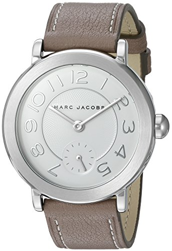Marc Jacobs Women's Riley Cement Leather Watch - MJ1468