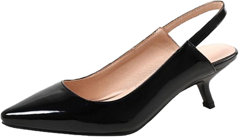 RizaBina Women Slingback Sandals Pointed Toe