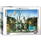 EuroGraphics 'Salvador Dalí Cisnes reflejando Elefantes Puzzle (1000 Piezas, Multi-Color)