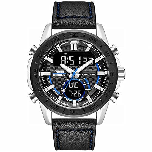 WTYU Relojes para Hombre Digital Military Deporte Táctico Táctico Impermeable Multifunción Reloj LED de Servicio de Trabajo para Hombres, cronómetro de Alarma D