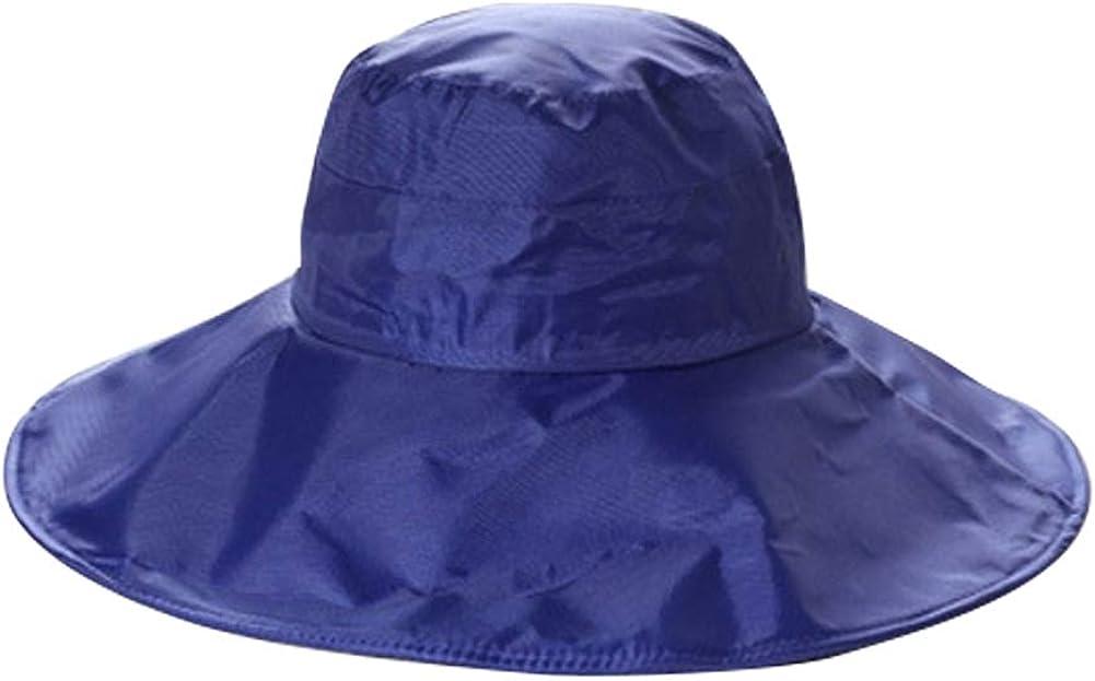 Rain Hat for Women Wide Brim Packable | Ladies Rain Cap, Waterproof, Sun Protection, Satin-Lined | Outdoor Bucket Hat