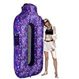 SEGOAL Inflatable Lounger Beach Bed Camping Chair Air Sofa Couch Hammock with Pillow Portable Waterproof Anti-Air Leaking for Camping Hiking Travel Beach Picnic Lakeside, No Pump Required