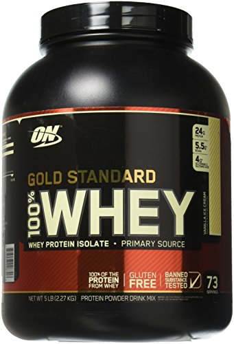 Optimum 100% Whey Gold Standard 2,3 kg -...