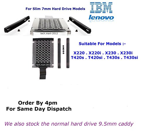 Lenovo hard drive caddy for 7mm slim hard drives