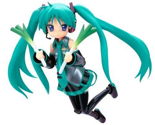 Lucky Star Hiiragi Kagami Hatsune Miku Vocaloid Cosplay Figma Action Figure (japan import)