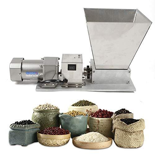 Molinillo de granos eléctrico 4L Molino triturador de cereales molienda ajustable para cereales cebada trigo Maíz 75RPM