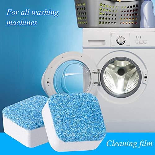 Yanten Waschmaschine Reiniger 1 Tablette Waschmaschine Waschmittel Remover Schäumende Reinigungskissen