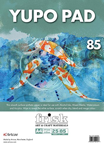 Frisk Yupo-Bloc de Papel (A4), Blanco