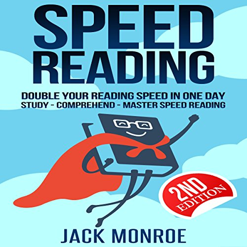 Speed Reading: Double Your Reading Speed in a Day audiobook cover art