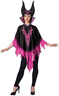 Dark Sorceress Adult Costume Poncho