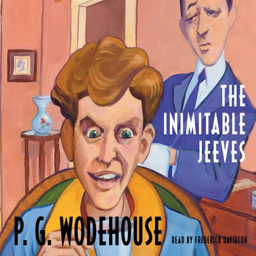 The Inimitable Jeeves cover art