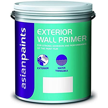 Asian Paint Primer Water Thinnable In White Colour 4 Ltr Amazon In Home Improvement