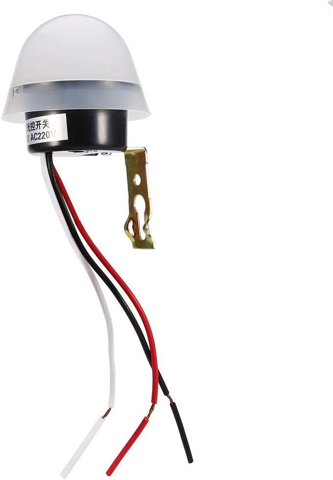 trust Haofy DC AC Omaha Mall 10A Photo Electric Sensor Control Light Autom Switch