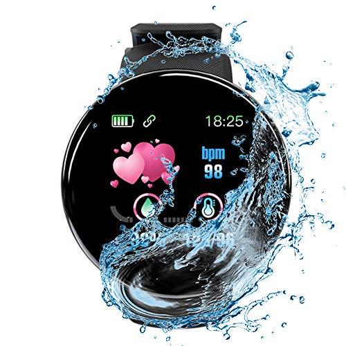 Regalo Ragazzo E Ragazza D18 Smart Watch Uomo Donna Sport Orologio Da Polso Bracciale Rotondo Fashion Smartwatch Waterproof Inteligentne Watches-1 Sportivo Fitness Tracker Ip68