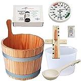 SudoreWell® Sauna Starter Set 3 / Saunazubehör Set 7-teilig