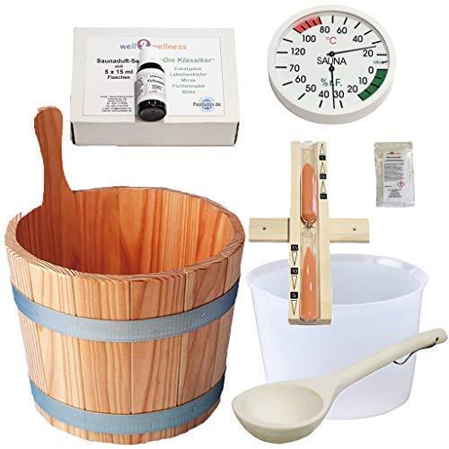 SudoreWell® Sauna Starter Set 3 / Saunazubehör Set 3-7-teilig