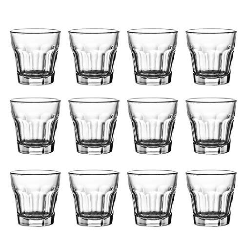 AHAI YU Cristal Premium - Cata de vinos Pequeñas Gafas de Cerveza, Copas de Vino sin talemes, decantador de Whisky, Adecuado para reuniones Familiares Hombres o Mujeres