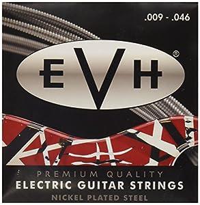 Calibre: .009, .011, .016, .026, .036, .046. EVH 's Signature Gauges Envuelto en níquel. Indicador luminoso personalizado, 9-46.