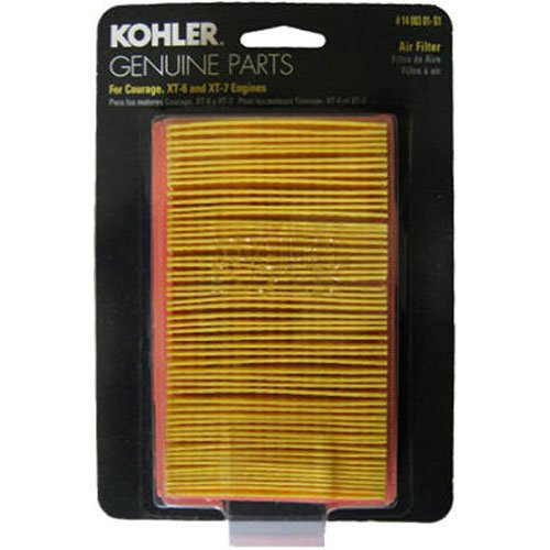 Why Should You Buy KOHLER 14 083 01-S1 Engine Air Filter Kit For Courage XT Series Engines