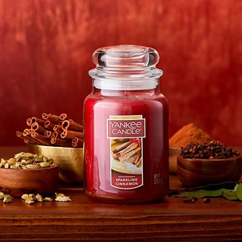 Yankee Candle Large Jar Candle Sparkling Cinnamon