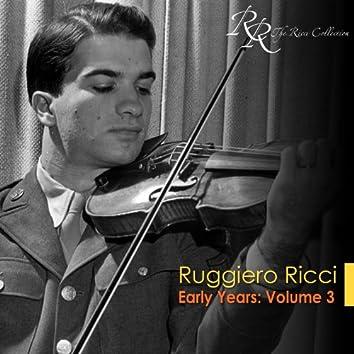 Violin Recital: Ricci, Ruggiero - Veracini, F.M. / Mozart, W.A. / Hindemith, P. / Kreisler, F. / Beethoven, L. Van