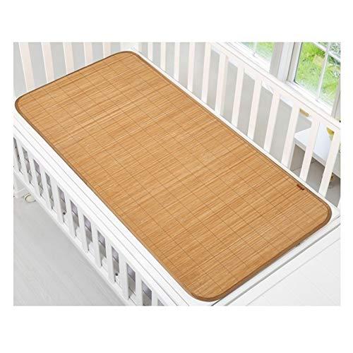 Matratzen Kühlbettwäsche Strohmatte Sommer Schlafmatten Bettmatte Sommer Baby Kinderbett Bambus Matte bequem atmungsaktiv 2 Größen