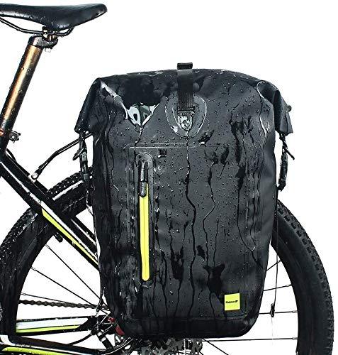 Fantastic Prices! ANXIANG Bicycle Bag 25L Waterproof, Waterproof Sealed Seams, Rubber Handle, Detach...