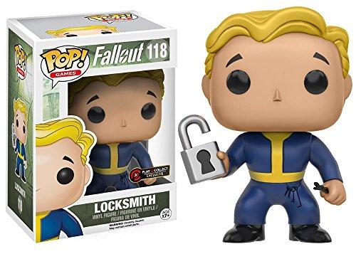 Funko 118 - Pop Fallout Vault Boy Locksmith, edizione limitata