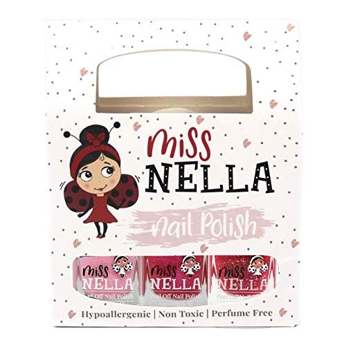 Miss Nella rosa glitter pacco di 3 colori Cheeky Bunny, Tickle Me Pink,...
