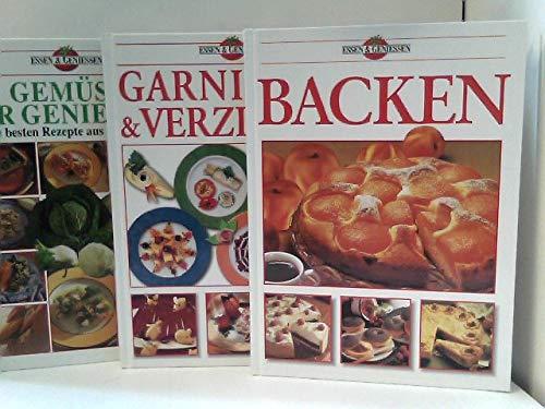 Konvolut bestehend aus 3 Bänden aus der Reihe: Essen & Geniessen.