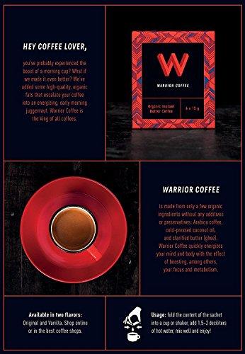 ブリリアントアースWarriorCoffee『有機インスタントバターコーヒー』