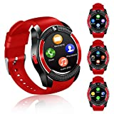 FENHOO Smartwatch SN08 Smart Watch con slot per scheda SIM Touch Screen Fotocamera Pedomet...