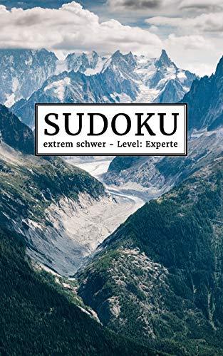 Sudokubuch für unterwegs: extrem schwer - Level: Experte | Sudoku Rätselblock für die Tasche | 192 knifflige Sudokus mit Lösungen im Anhang | Kleines Rätselbuch | Gehirnjogging für Erwachsene
