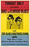 The Blues Brothers in Concert Poster, rahmenlos, 30 x 46