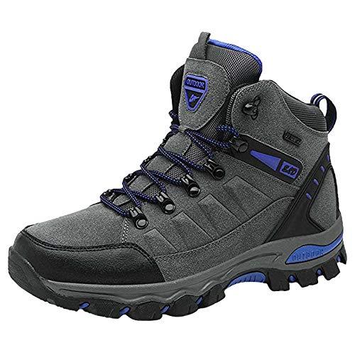 DAIFINEY Herren Turnschuhe Walkingschuhe Mode Atmungsaktiv Laufschuhe Leichtgewichts Sportschuhe Freizeitschuhe Straßenlaufschuhe Sneaker Trainer für Outdoor Fitness Gym(1-Grau/Gray,38)
