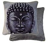 Gefüllt Buddha Wandteppich Verrohrt Kunstwildleder 18 ' 45cm Kissen