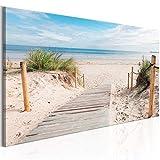 murando - Bilder Strand 135x45 cm Vlies Leinwandbild 1 TLG
