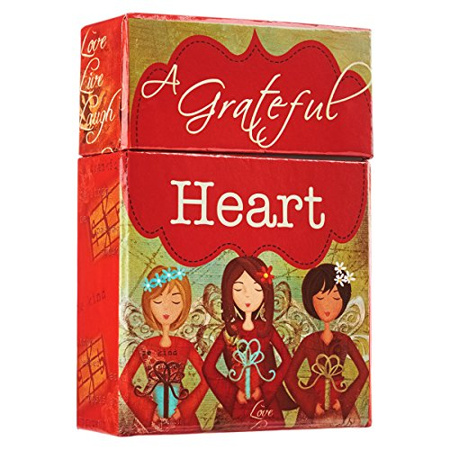 Gratitude 'A Grateful Heart' Cards - A Box of Blessings