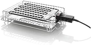 HAEGER NEW ALABAMA - Grill Eléctrico/Parrilla Eléctrica 2400W,asa anticalórica, bandeja de goteo en INOX, resistencia movi...